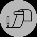 Для вшивания резинки
