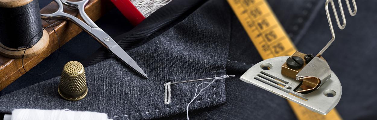 Окантователи и другие приспособления для промышленных швейных машин