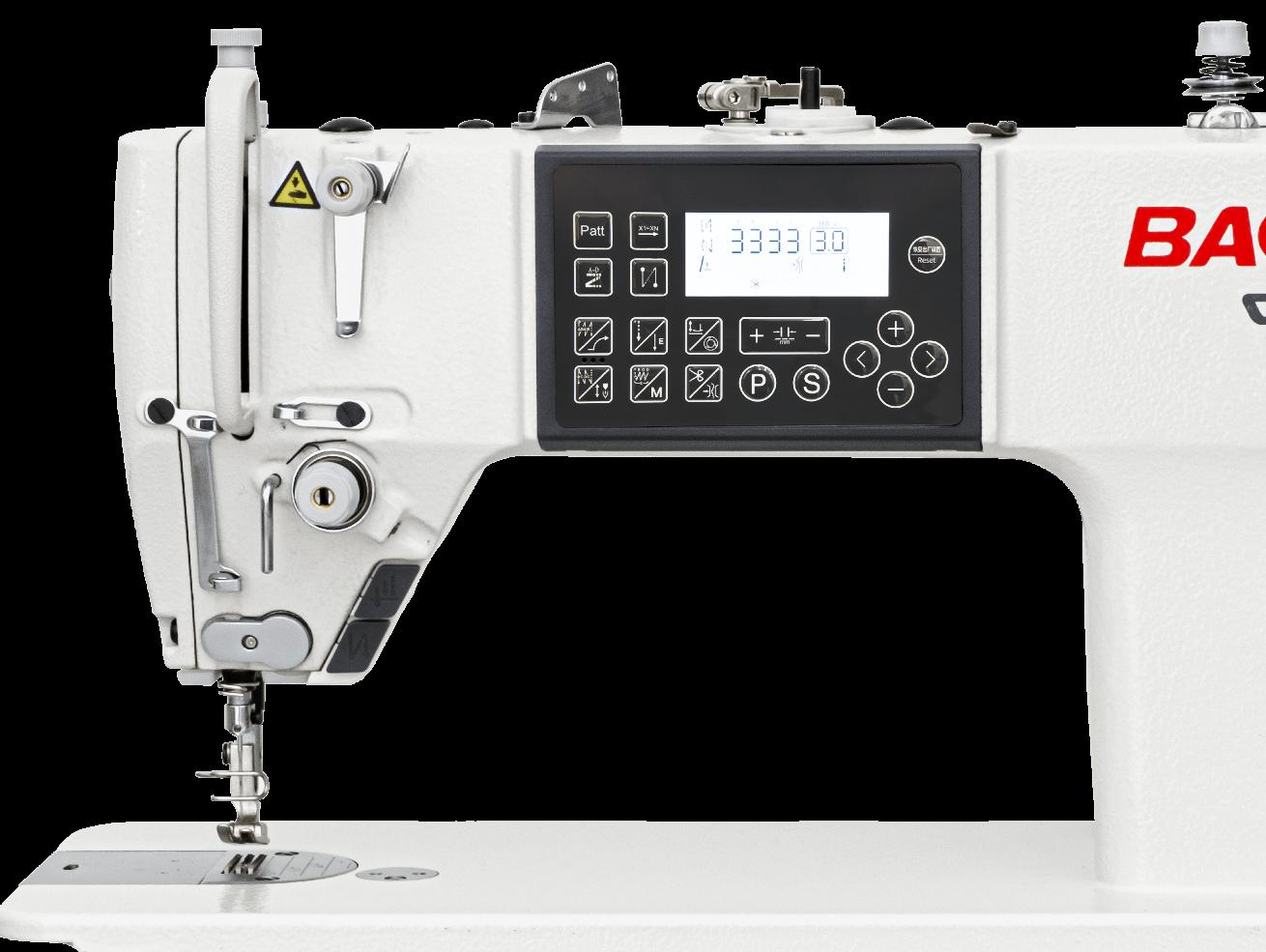 Взаимодействие швейной машины Baoyu GT-288E