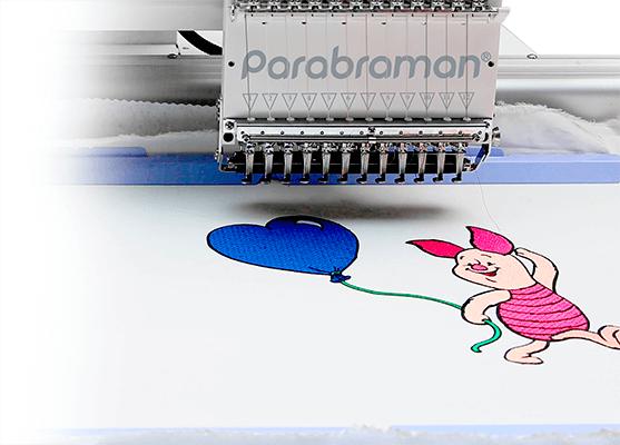 Вишивка в бордюрній рамі Parabraman